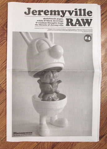 RAW #4 newspaper
