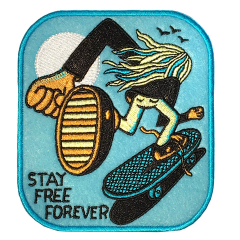 Stay Free Forever Patch