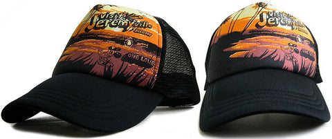 Sunset trucker cap
