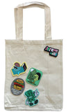 Tote With Patches - Style 2