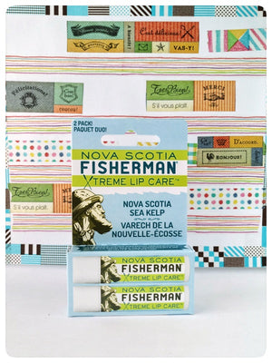 Nova Scotia Sea Kelp Lip Balm(double pack). Made in Canada. Sea kelp relieve irritated skin naturally.