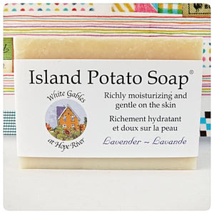 Potato soap - Lavender