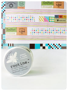 Routine Bonnie n Clyde natural deodorant.  unscented beeswax formula