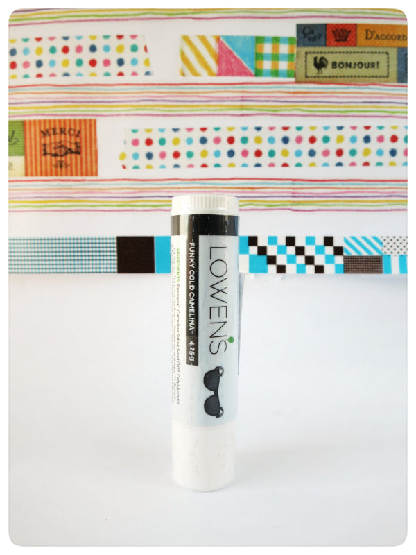 Camelina Lip Balm EWG Approve. Made in Canada with Prairies Oils.