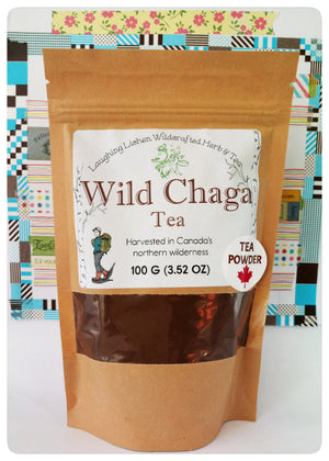 Wild Chaga Tea. Harvested in Northwestern Territories, Canada.