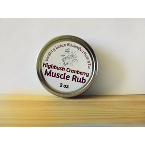 Highbush Cranberry Muscle Rub - large size
