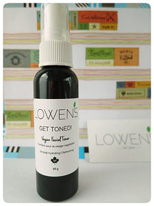 Vegan Facial Toner EWG Approve. Made in Canada with Prairies Oils.