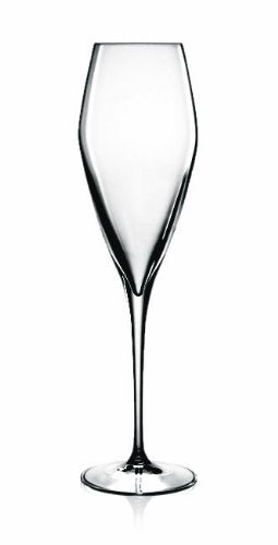 Luigi Bormioli Prestige Champagne/Flute Glasses, 10 oz, Set of 4