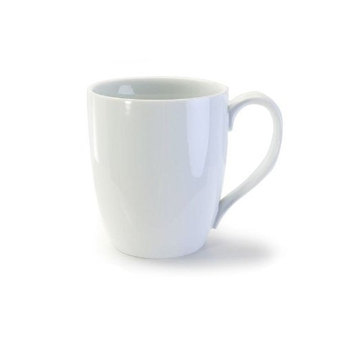 Bia Cordon Bleu 903109  White Porcelain Bistro Mug 4pc Set