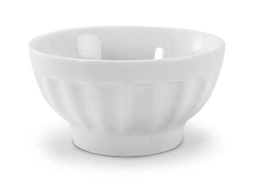 BIA Cordon Bleu White Porcelain 16 ounce Café au Lait Bowl, Set of 6