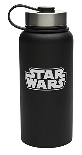 Zak Designs SWRG-3860 Star Wars Insulated Water Bottles, 32 oz Logo