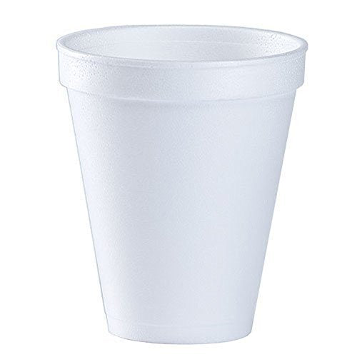 Party Dimensions 48 Count Foam Cup, 12-Ounce, White