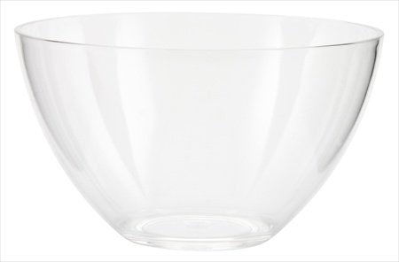 Zak Design Clear 0025-4233 Grace 5.5 In. Individual Bowl, Pack Of 8
