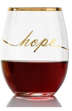 Arc International Luminarc Stemless Wine Glass Hope Design