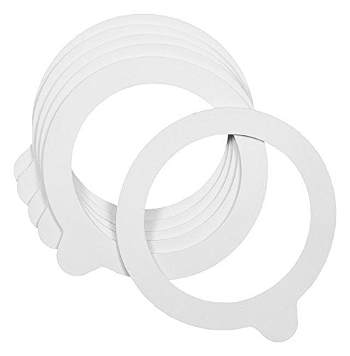 White Gaskets- Pack of 6