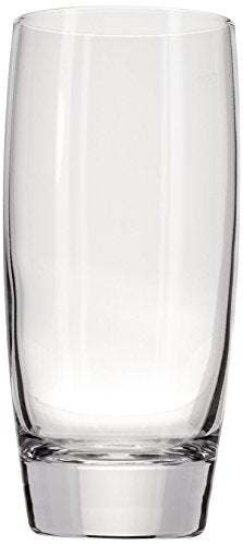 Luigi Bormioli Michelangelo 20 ounce Beverage Glass, Transparent Glass, Set of 4