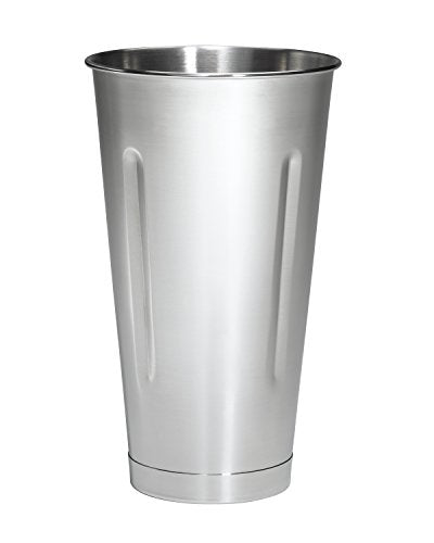 "Hamilton Beach 110E CommercialUniversal Container, 4"" L, 4"" W, 6.88"" H, 32 Ounce, Stainless Steel"