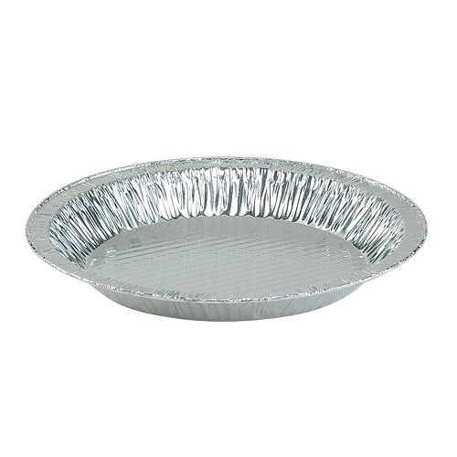 "Nicole Home Collection 00564 Aluminum 9"" Pie Plate, 1-1/4"" Deep (Pack of 200)"