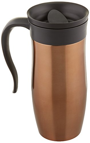 Trudeau Maison Endure Travel Mug, 16 oz, Copper