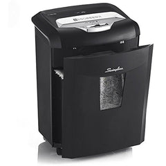 Swingline Micro-Cut Paper Shredder, 9-Sheet, EM09-06, Black (1757399)