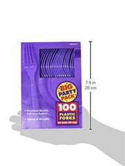 Amscan 43600.106 Party Supplies, Purple