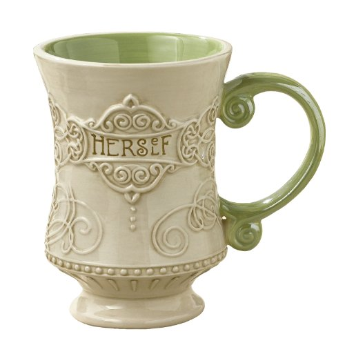 "Grasslands Road Celtic 10-Ounce""Herself"" Irish Coffee Mug, Gift Boxed"