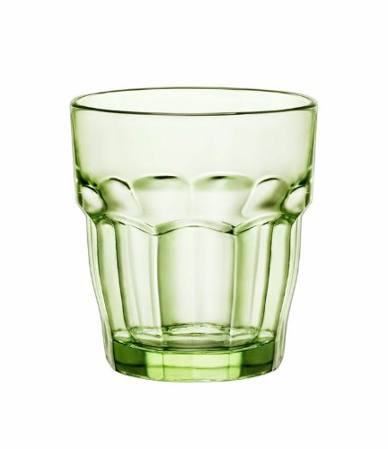 Bormioli Rocco Rock Bar Lounge Rocks Glasses, Mint, Set of 6