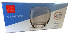 Bormioli Rocco Essenza Water Glass, 12.5 oz, Set of 4