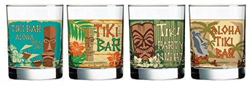 Luminarc 8 Piece Tiki Pop Set,, Clear