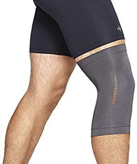 Tommie Copper Unisex Core Compression Knee Sleeve, Slate Grey, X-Large