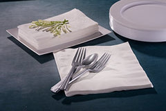 Premium White Napkins, 3 Ply Dinner Napkin Cloth Like | Value Pack 300 Count