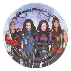 Descendants Birthday Party Pack (Plates & Napkins) 16 Guests