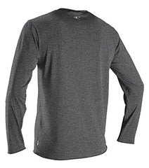 O'Neill Wetsuits Men's Basic Skins UPF 50+ Long Sleeve Sun Shirt, Hybrid Graphite, Small