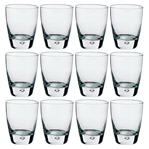 Bormioli Rocco Luna Tumbler Juice Glasses, Set of 12