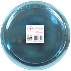Hard Plastic Plates, 9-Inch Round, Party/Luncheon Plates, Assorted Neon, 20-Count