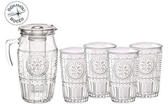 Bormioli Rocco 387595G10021990 Romantic Tumbler - 10.25 oz - 4 Piece Set, Clear