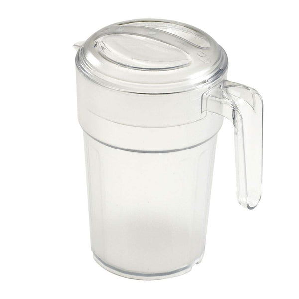 Cambro Pitcher Covered 1 Liter -Clrcw (PC34CW135) Category: Food Storage Round Containers