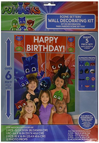 Amscan PJ Masks Decorations Wall
