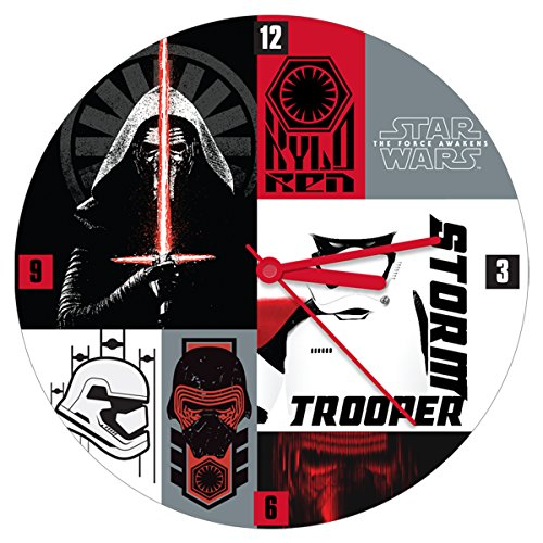 Star Wars the Force Awakens 13.5 Inch Wall Clock 55035