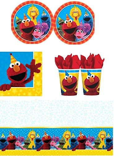 Sesame Street - Party Pack for 16 Guests