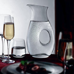 Bormioli Rocco Aurum Ounce Carafe, 150cl (50 6/8 oz) Gift Boxed]