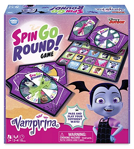 Wonder Forge Disney Junior Vampirina Spin Go Round Games