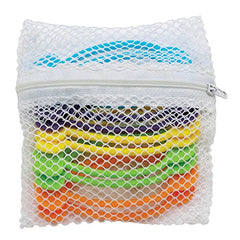 HIC Harold Import Co. 43729 World's Greatest Stretch N' Twist Silicone Bag, 3-Pack (30 Ties in Total)