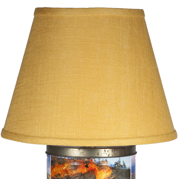 Vintage National Parks Caddy Lamp