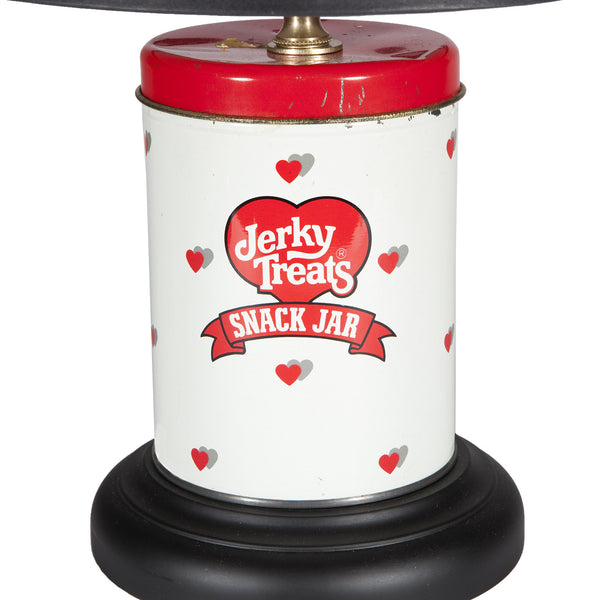 Vintage Dog Treat Tin Lamp