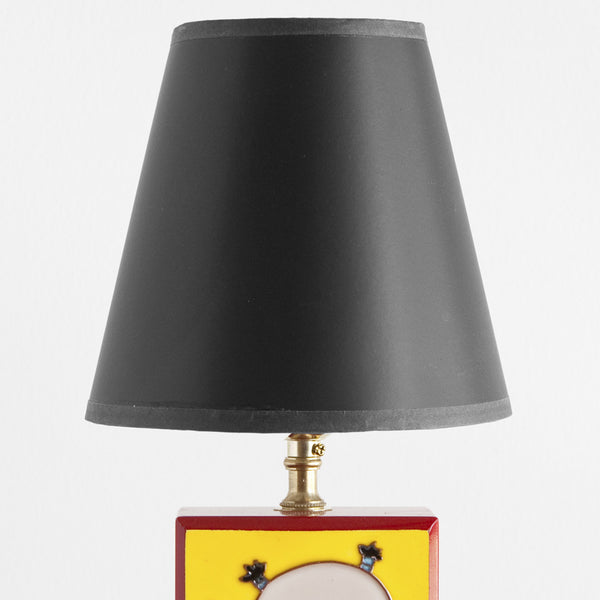 Small Vintage Children's Box Lamp
