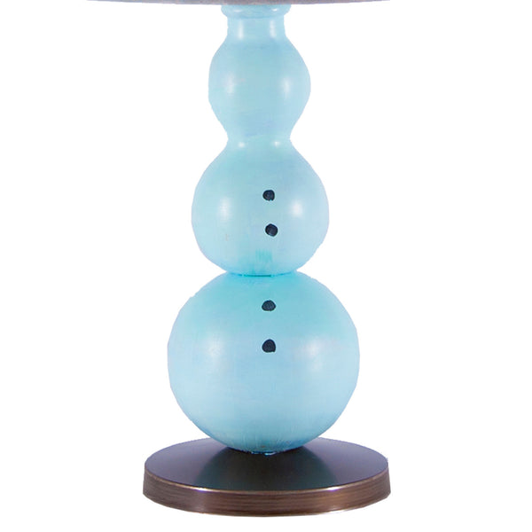 Snowman Lamp by LampStoreOriginals