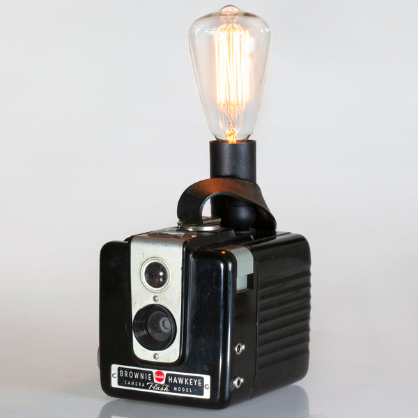 Vintage Kodak Brownie Hawkeye Camera Lamp