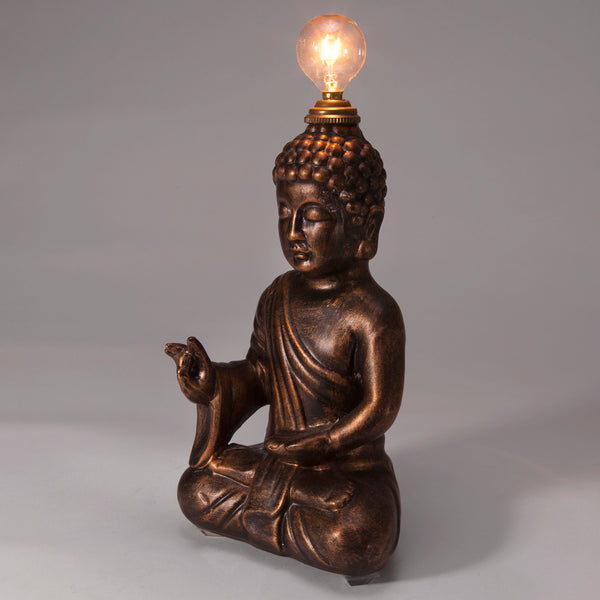 Vintage Buddha Figure Mini Lamp
