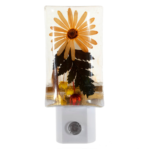 Lovely Flowers Night Light - LED Auto-Sensor Plug In Night Light